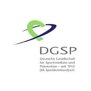 LOGO DGSP Deutsche Gesellschaft für Sportmedizin